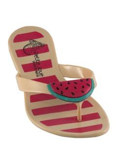 Pool Thong Watermelon Sandals Gelato De Papaya