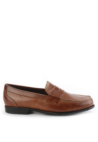 Rockport brown Classic Loafer Penny RO335SH0VX7PID_1