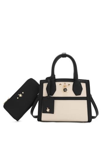 Swiss Polo black 2 In 1 Ladies Bag Set 456CEAC802CE57GS_1