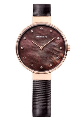 Bering gold Classic 12034-265 Brown 34 mm Women's Watch A9291AC5145306GS_1