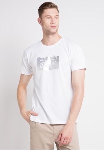 Onitsuka Tiger white Logo T-Shirt 715A4AAE31FE5AGS_1