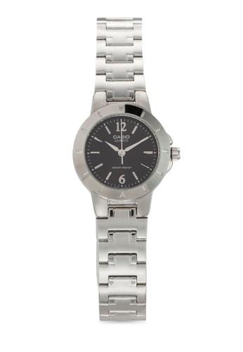 LTP-1177A-1ADF 圓框金屬鍊錶,zalora 手錶 錶類, 飾品配件