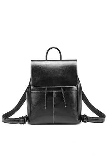 Twenty Eight Shoes black Vintage Cow Leather Backpack 332-2 0CCB9ACA7A09CEGS_1