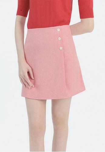 Cheetah red Cheetah Ladies A-Line Mini Skirt - CL-12318 3A660AA5A7B319GS_1