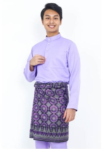 STARVILION purple Carlo Baju Melayu C5969AA245AC5AGS_1