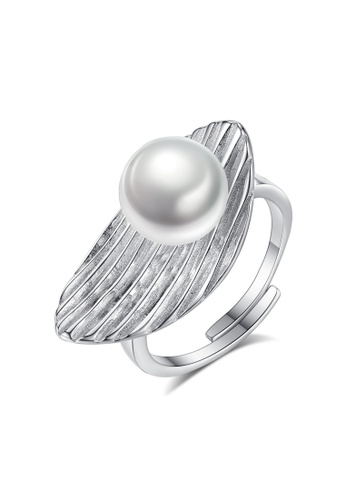 A.Excellence white Premium White Pearl Ring 3A299AC1A7034DGS_1
