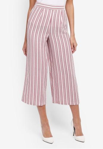 Miss Selfridge multi Stripe Cropped Trousers BE024AAE86CD57GS_1