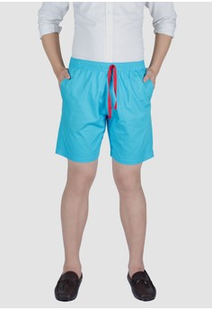 Straightforward Azul Tailored Shorts
