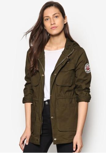 軍事風輕量salon esprit外套, 服飾, 服飾