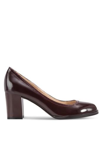 粗跟仿皮淑女鞋、 女鞋、 鞋BETSY粗跟仿皮淑女鞋最新折價