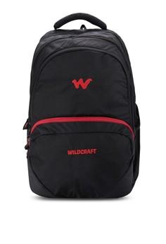 Azi Black Laptop Backpack