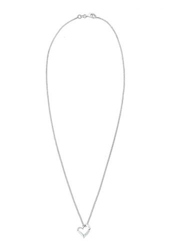 鑽心 925 esprit outlet 高雄純銀項鏈, 飾品配件, 項鍊