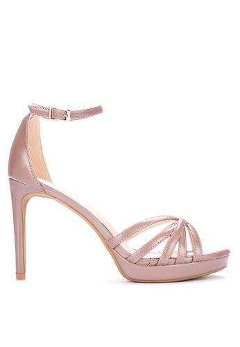 ABOUT A GIRL brown Heeled Sandals B083ESH3D73EDBGS_1