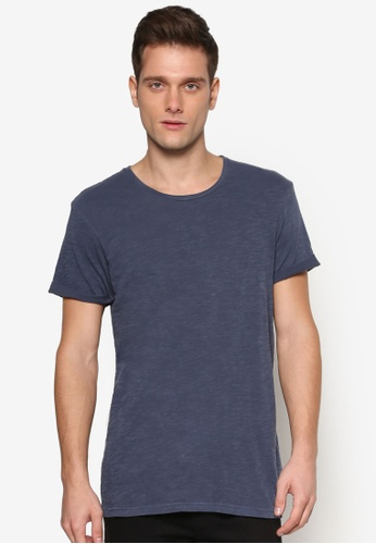 Cotton On blue Turn Up Tee CO372AA30HFPMY_1