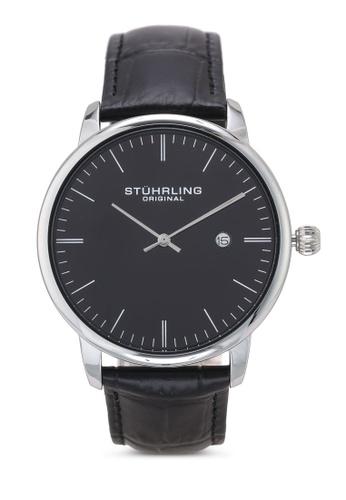 Stuhrling Original black Minimalist 3997.2 Watch Watch 73F54AC7A41886GS_1