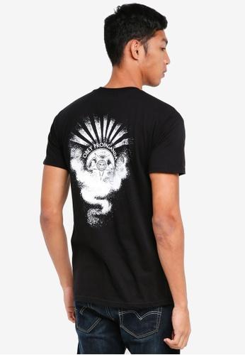 OBEY 黑色 短袖印花T恤 1F52AAAA56EF63GS_1