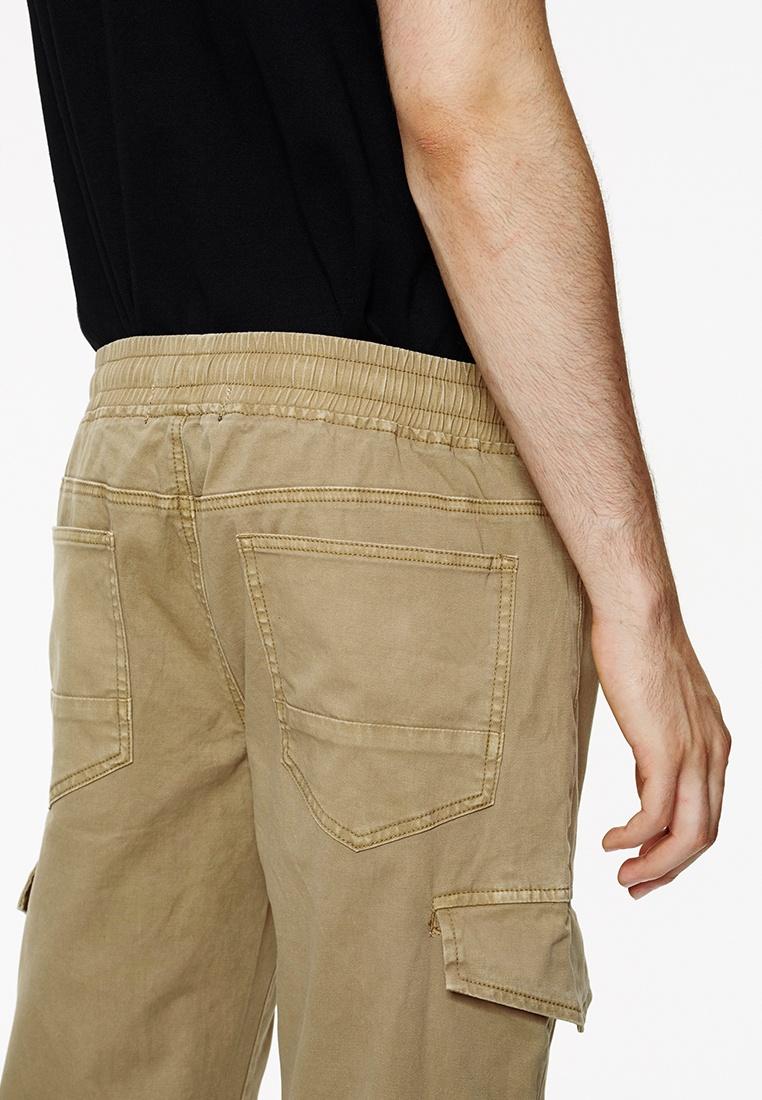 Sweat Jogger Pant Khaki Life8 Regular Khaki 02430 In Fit Cargo Casual UxHnq5wE4p