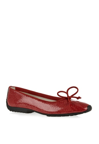 Covet red French Sole Gabi Ballet Flats CO331SH15ELWPH_1