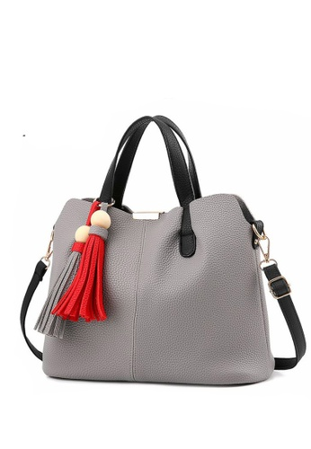 TCWK grey Ladies Handbag TC258AC31IYQMY_1