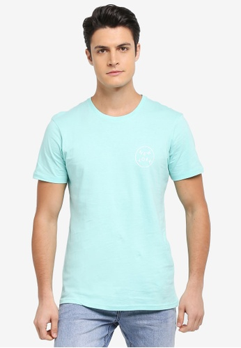 Cotton On green and blue TBar Tee 68EACAA0CEC545GS_1