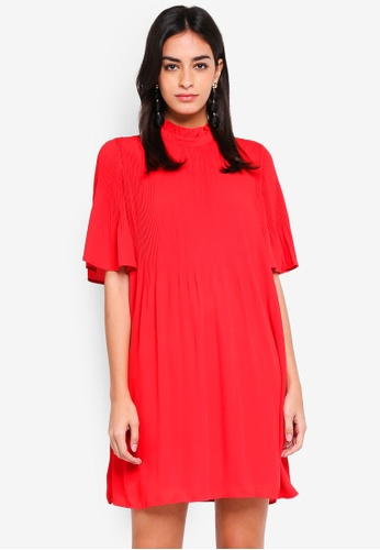 Vero Moda red Gudrun Short Dress C03DEAA2CDAEB4GS_1