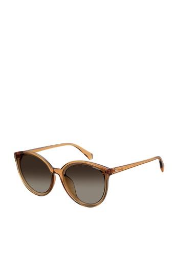 Polaroid brown Polaroid 4082/F/S Sunglasses BC53AGL57FAF22GS_1