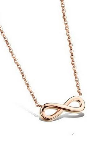 Vivere Rosse Infinity Necklace VI014AC70BGZMY_1