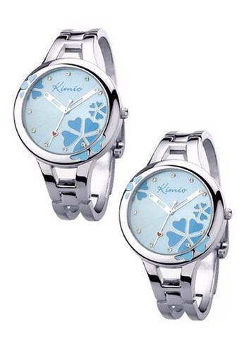 Eyki Bundle 2 Units Eyki K425L Kimio Lucky Grass Ladies' Watch Blue EY078AC0RRKBMY_1