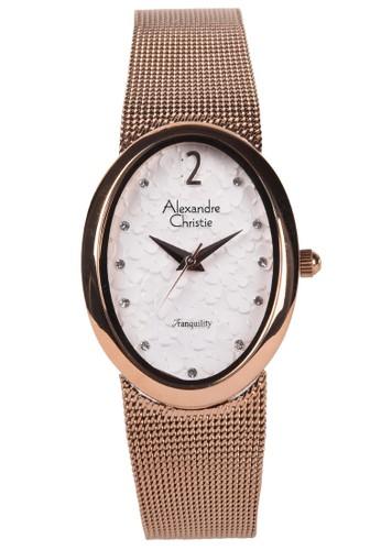 Alexandre Christie gold Alexandre Christie - Jam Tangan Wanita - Rosegold - Stainless Steel Bracelet - 2858LHBRGSL 2AAA0ACFA187D6GS_1