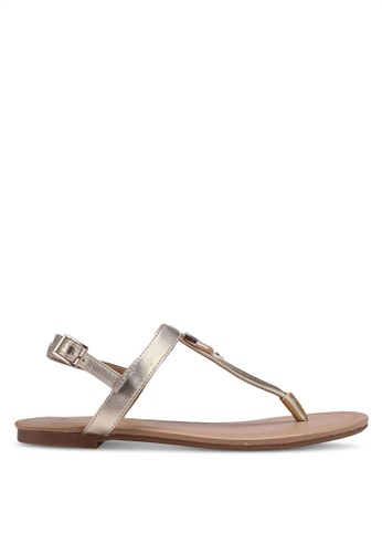 Call It Spring gold Jadene Flat Sandals 29508SH37747BCGS_1