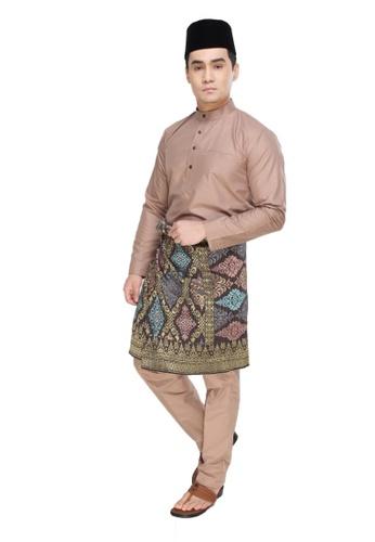 Amar Amran brown Baju Melayu Raja Sehari 1AE11AAE8A5CE8GS_1