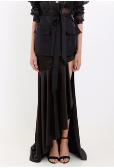 [PRE-ORDER] Serpentine Skirt with Slit