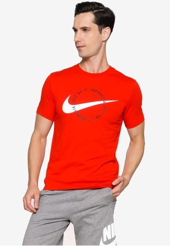 Nike red Sportswear Men's T-Shirt C3260AA33805CDGS_1