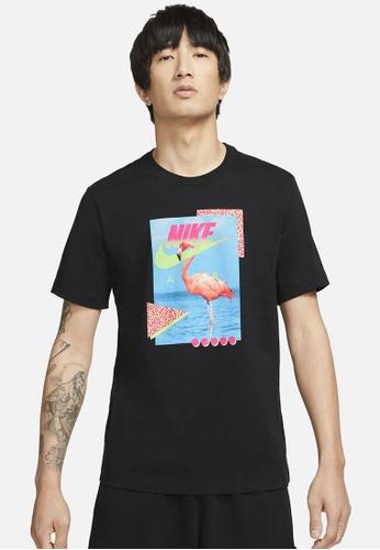 Nike black Sportswear Men's T-Shirt 20997AA8D9A2FDGS_1
