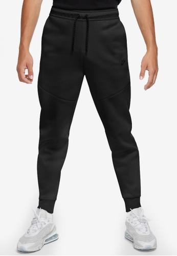 Nike black Men's Tech Fleece Joggers CDD8FAA92E1D6EGS_1