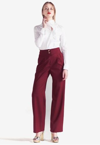 MAGAN 高腰長褲, 服飾, 長褲及內搭esprit outlet hong kong褲