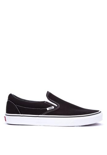 Vans black Classic Slip-On Sneakers D0E77SH75CDAFCGS_1
