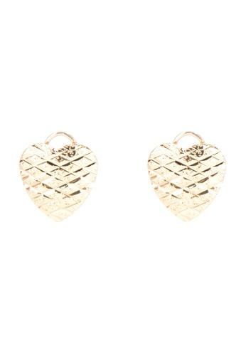 Jewelciti Gold Heart Stainless Steel Earrings 7bfac498cf63gs 1