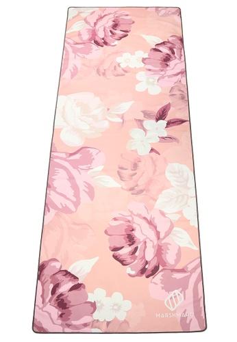 MARSHMARO pink MARSHMARO YOGA TOWEL - COZY PEONY 83CEDACA95A3C3GS_1