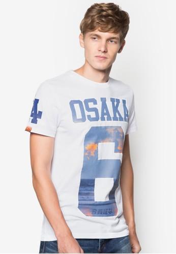 『Osaka』印花esprit台灣門市圓領TEE, 服飾, 印圖T恤