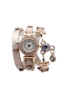 Bluetooth DS10011 Lady Diamond Bracelet Watch