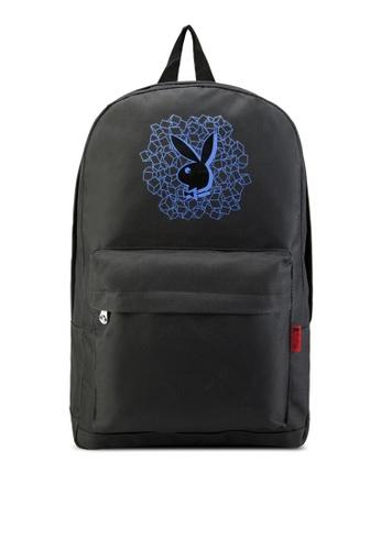 Playboy black Playboy Backpack PL371AC27LTCMY_1