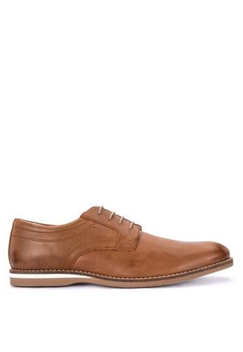 Mendrez brown Mark Formal Shoes 066E6SHD7ACF4EGS_1