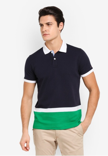 Tommy Hilfiger multi ADEL ENG POLO S/S SF 736D4AA3F0C5A3GS_1