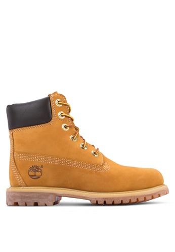Timberland 褐色 Earthkeepers 6 寸冒險抗疲勞 優質靴子 TI063SH21QBEMY_1