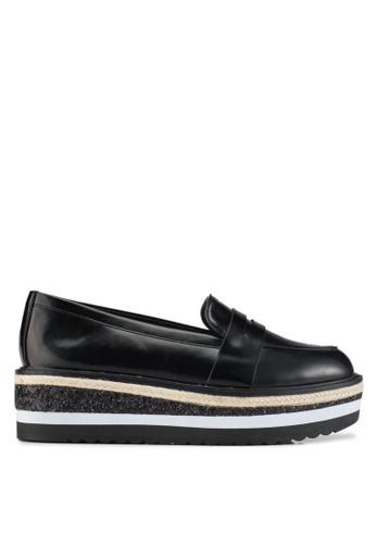ALDO black Ibaresen Loafers DD514SH5E8047DGS_1