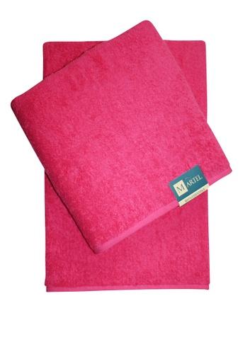 Martel pink Martel Basic Bath Towel 235F5HL12383F0GS_1