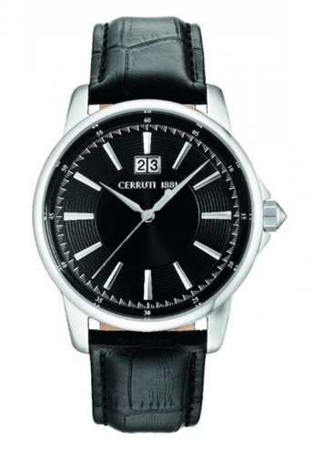 CERRUTI 1881 black Cerruti 1881 Men Quartz Watch CTCRA072SN02BK CE514AC35QGYMY_1