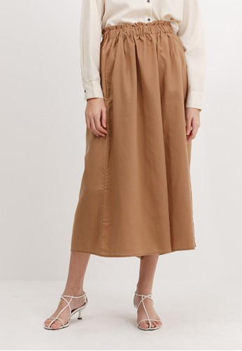 Bobo Tokyo brown Margo Pants - Light Brown 435BFAAC5BDE72GS_1