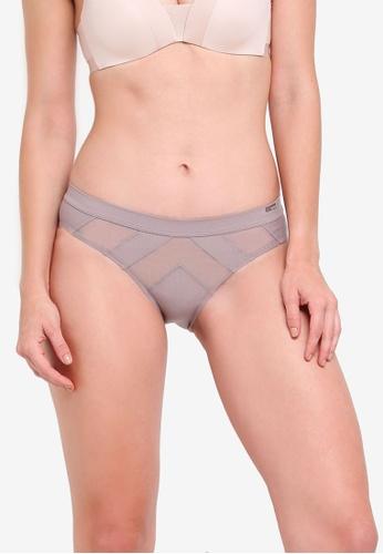 Calvin Klein grey Calvin Klein Bikini Panties - Calvin Klein Underwear 338B7US659D17EGS_1